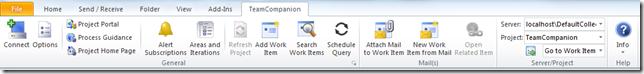 Main ribbon tab image